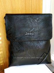 Стильная мужская сумка Jeep в наличии