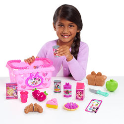 Игровой набор Minnie Bow-Tique Bowtastic Shopping Basket Set