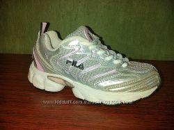Кожаные кроссовки на девочку FILA 28. 5-29 размер