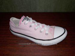 Розовые кеды Converse All Star  33. 5-34 размер