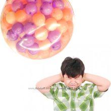 Шар сюрприз на 100 - 200 шаров, оригинальный подарок на праздник ребенку