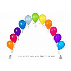 Гирлянды из воздушных шаров, Гелиевые арки для открытия магазина
