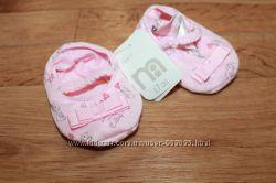 Милые пинетки для маленькой модницы  от Mothercare
