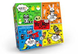 Карточная игра Danko Toys YENOT ДаНетки 4в1 Рус YEN-02-01