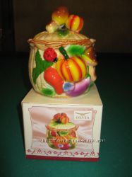 Набор кухонной керамики с 3D-рисунком