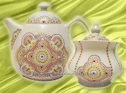 Чайный набор Orient - чайник и сахарница