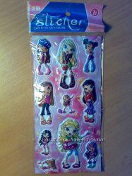 Наклейки, стикерсы 3D девочки Мокси, Винкс