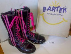 Сапоги ботинки bartek зима, р. 38, ст. 24, 5