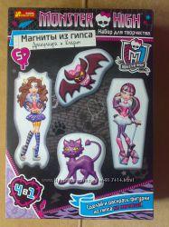 Магниты из гипса Monster High Монстр Хай