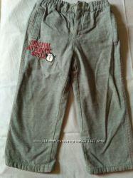 брюки на хлопковой подкладке для мальчика 98 размер