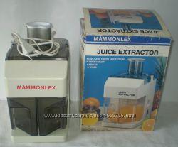 Соковыжималка новая электрическая Mammonlex