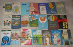 Книги по спорту, медицине, благоустройству дома