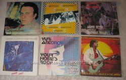 Пластинки винил - эстрада 80-90-х годов.