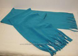 Шарфы бирюзовый, розовый и серо-голубого цвета