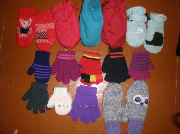 Шарфіки, рукавиці
