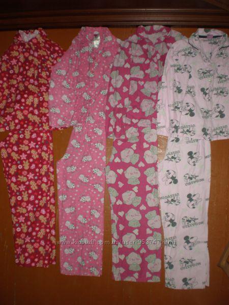 Піжами різні махрові, байкові для хлопчика і дівчинки