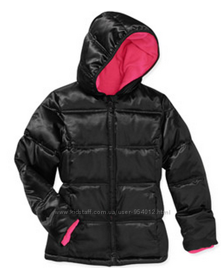 Куртка для девочек Faded Glory внутри флис размер 6 -6х из США