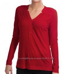 Pеглан Lands End Shirt лиоцелл - красный синий черный разм. XS на S из США
