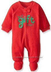 Флис новый человечек пижама слип Childrens Place 4T и хлопок - 5T