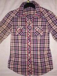 Стильная рубашка-туника Next р.10 р-р М Состояние отличное