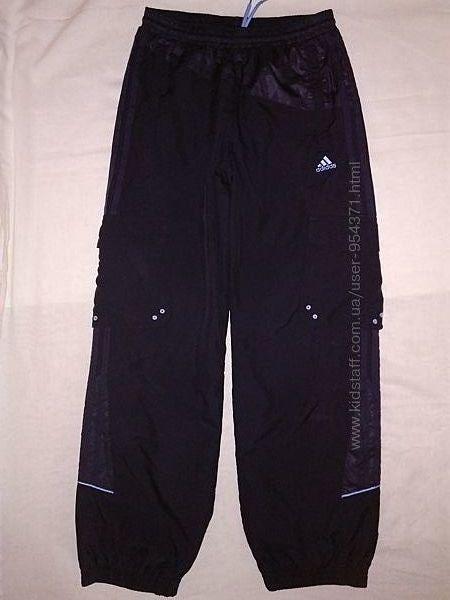Спортивные штаны Adidas оригин. S-M р.158-164  Состояние идеальное