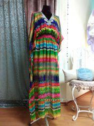 Шикарное шелковое платье от Moon River