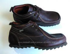 Кожаные ботинки snipe, 40р, 27см стелька
