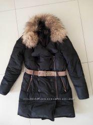 Курточка с натуральным воротником