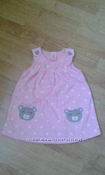 Флисовое платье - туника для девочки от CARTERS