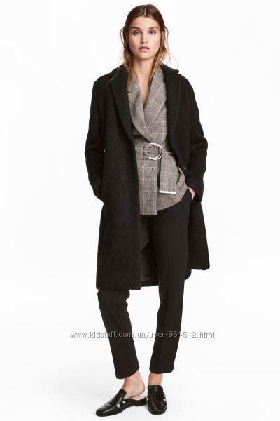 Женское полушерстяное пальто премиум класса от H&M