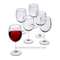 Бокал для красного, белого, шампанского вина  Ikea