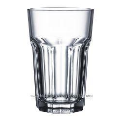 Стакан, прозрачное стекло Икеа