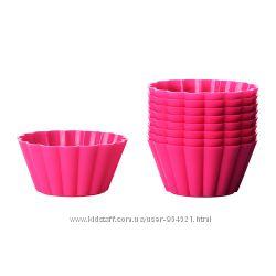 Набор силиконовых форм для выпечки 9 шт ИКЕА 00280864