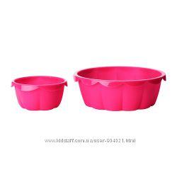 Силиконовые формы для выпечки 2 шт. ИКЕА 00256623