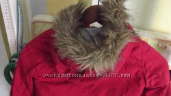 Куртка красная Old Navy 4T деми для мальчика