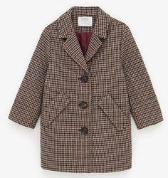 ZARA, оригинал Пальто на девочку, размер 140 / 152