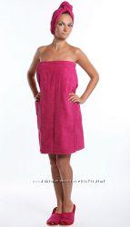 полотенце для сауны на липкой ленте