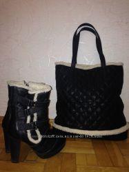 Комплект ботинки Next 36 и сумка Minelli