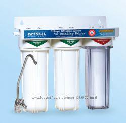 фильтр трехступенчатый под мойку Crystal UWF-XG3.