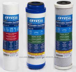 Комплект фильтров усиленная защита от хлора ТМ Crystal.