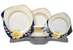 Набор тарелок. Сервиз обеденный. 30 предметов