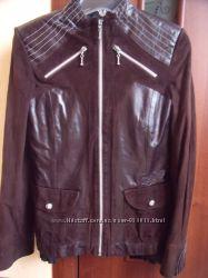 Куртка з натуральноі шкіри та замші. Стан нової. Торг.