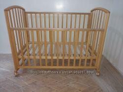 Кроватка Ciak Natural Pali с качалкой