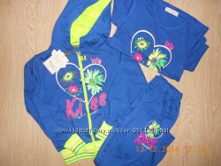 Спортивные костюмы-тройка для девочек, Венгрия, 5 лет