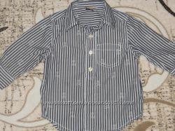Рубашка Gap 6-12 месяцев