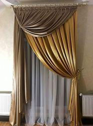 Услуги пошива штор, тюли, текстиля