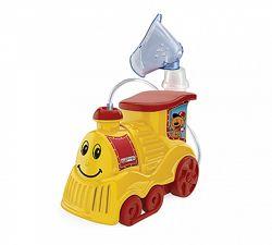 Ингалятор компрессорный Turbo Train Dr. Frei для детей, небулайзер детский