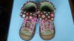Кожаные демисезонные ботинки Babybotte р. 23, 14см