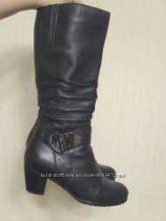 Шикарні чоботи Sinta зимові сапоги зимние 40-41р кожаные шкіряні