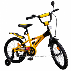 Велосипед детский 2-х колёсный 16 дюймов.